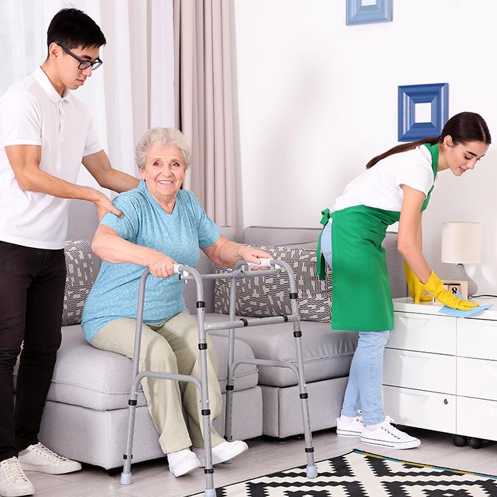 負担を減らすサービス2.家事代行